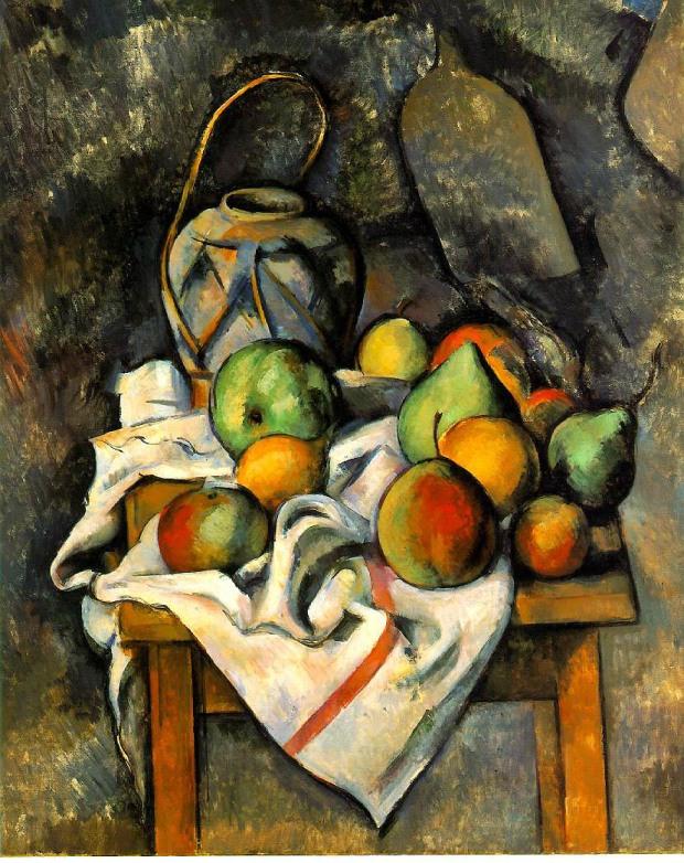 La Vase Paille, Oil on canvas, 73 x 60 cm - The Barnes Foundation, Merion, Pennsylvania
