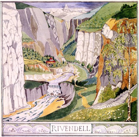 Rivendell by Tolkien