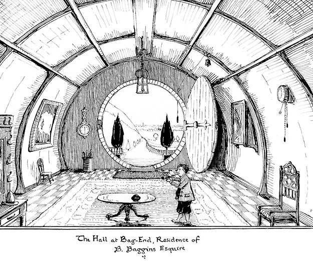b.baggins residence