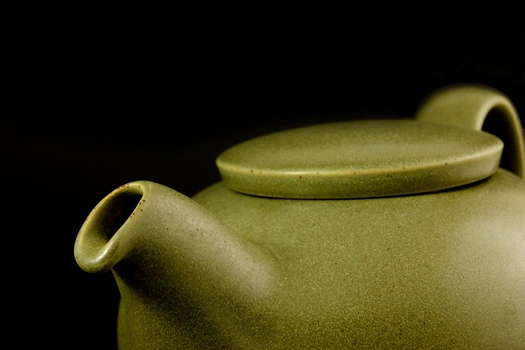 close up of teapot by david miller