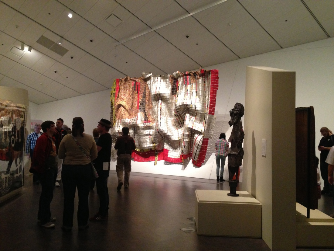 Indira Ganesan, El Anatsui: when I Dreamed of Africa,  Denver Art Museum, 2013