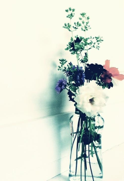 indira ganesan, white bouquet II, 2013