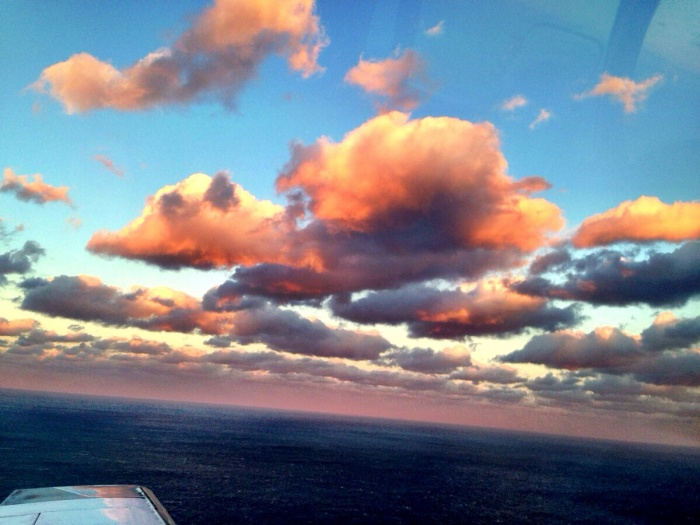Indira Ganesan, Sunrise from Cessna, 2013