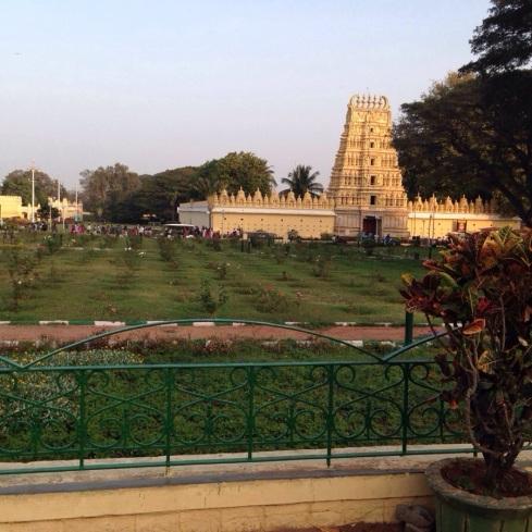 Indira Ganesan, Mysore Palace temple, 2014