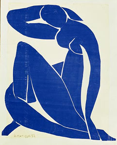 Matisse, Blue Nude, Creative Commons