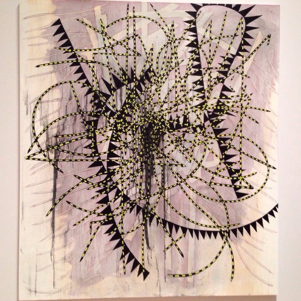 Charline von Heyl Concetto Spaziale 2009 MoMA