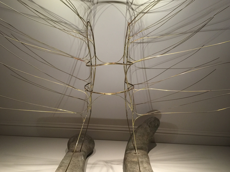 Noguchi, Serpent Dress (dance costume for Martha Graham)